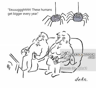 """""""Eeuuuggghhhh! These humans get bigger every year."""""""